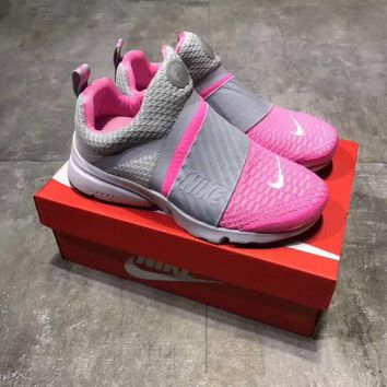 """Nike Air Presto"" Women Sport Running Casual Multicolor Flyknit Basketball Shoes Sneakers"