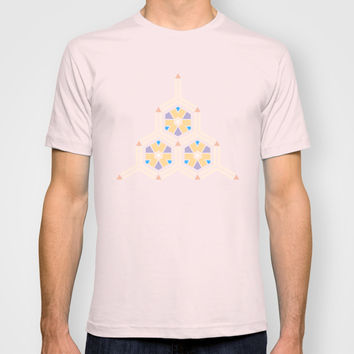 Abstract Geometric Kids Pattern T-shirt by Cinema4design
