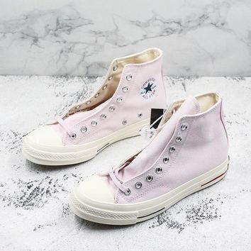 Converse Chuck Taylor All Star 1970s High Top Heritage Pink Canvas Sneakers - Best Deal Online