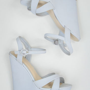 Cute Wedges in Grey