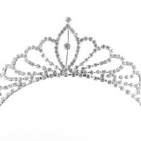 Princess Rachel Diamond Tiara - Birthday & Wdding - Girl & Woman Tiara Headband