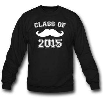 Class of 2015 Moustache Sweatshirt