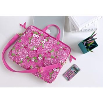 Lilly Pulitzer Laptop Tote -May Flowers