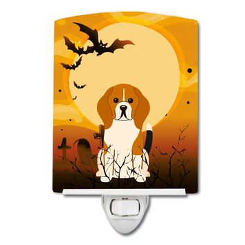 Halloween Beagle Tricolor Ceramic Night Light BB4306CNL
