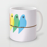 Birds Mug by Emma J Hardy