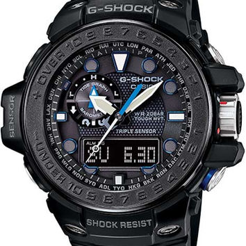Casio G-Shock Gulfmaster Solar Atomic - Black - Tide Function - Smart Access