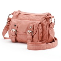Candie's Washed Mini Messenger Bag