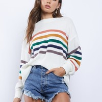 Rainbow Sprite Sweater