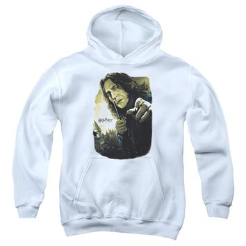 Harry Potter - Snape Poster Youth Pull Over Hoodie