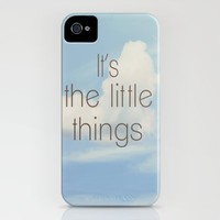 The Little Things iPhone Case by Rachel Burbee | Society6