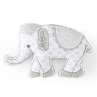 Levtex Baby Baby Ely Grey Elephant Pillow