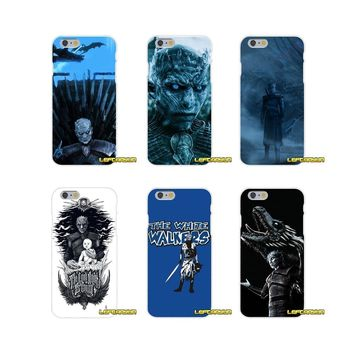 game of thrones white walker Slim Silicone phone Case For Motorola Moto G LG Spirit G2 G3 Mini G4 G5 K4 K7 K8 K10 V10 V20 V30