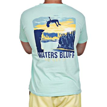 Flippin' Out Tee Shirt in Island Reef by Waters Bluff