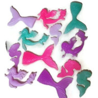 Mermaid Birthday Soap Favors - Mermaid Party Favors - The Little mermaid favors - Under the Sea Favors - Mermaid Tail - Mermaid Silhouette