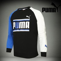 Puma Men Fashion Casual Top Sweater Pullover-5