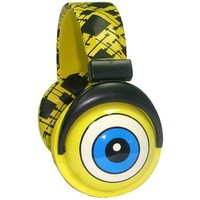 iHip SBF10276 Nickelodeon - SpongeBob DJ Style Headphones - Yellow/Black/Blue (Discontinued by Manufacturer)