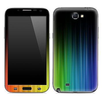 Neon Curtain Wave Skin for the Samsung Galaxy Note 1 or 2