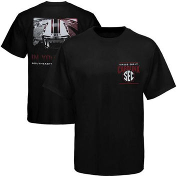 South Carolina Gamecocks In Your Face T-Shirt - Black