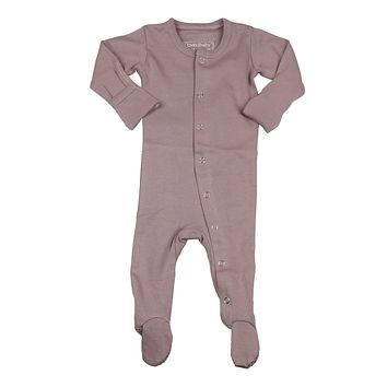 L'ovedbaby Baby Girls' Lavender Footie