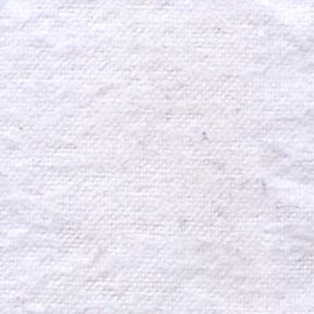 White Flannel Fabric by the Yard | 100% Cotton