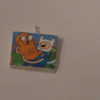 Adventure Time Finn and Jake Charm