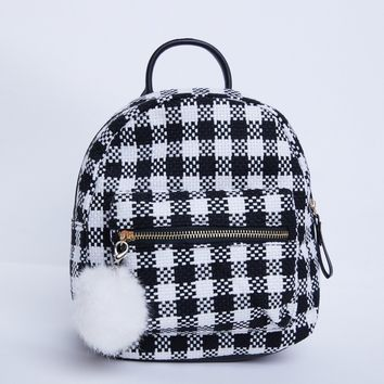 Mad For Plaid Mini Backpack