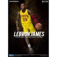 NBA COLLECTION: LEBRON JAMES - MOTION MASTERPIECE 1:9 SCALE ACTION FIGURE