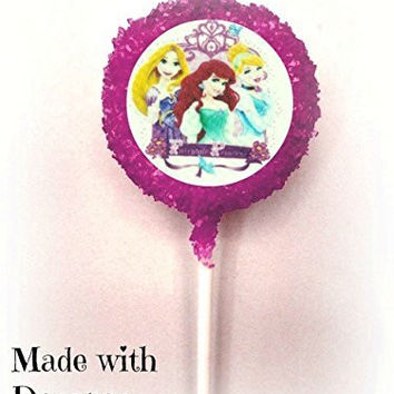 DISNEY PRINCESS White Chocolate Covered Oreo Cookie Pops