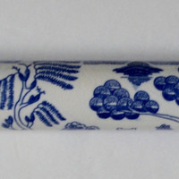 Vintage Blue Willow Chinoiserie Pastry Rolling Pan 1 piece Rare