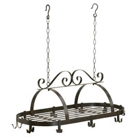 Zingz & Thingz Basic Kitchen Hanging Pot Rack