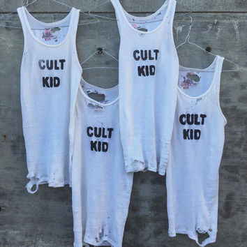 Cult Kid Trashed Tank