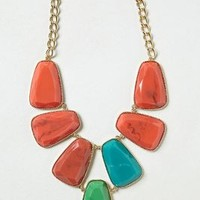 Stoneslab Bib Necklace by Anthropologie