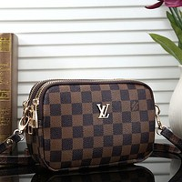 Louis Vuitton LV GUCCI Women Fashion Leather Crossbody Shoulder Bag Satchel