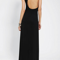 Urban Outfitters - Sparkle & Fade Asymmetrical Back Maxi Dress