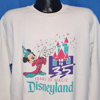 90s Disneyland 35th Anniversary Sweatshirt Extra-Large