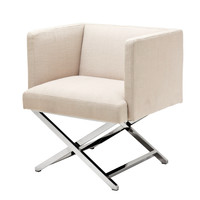 Linen Lounge Chair | Eichholtz Dawson