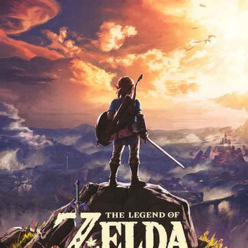 Legend of Zelda Breath of the Wild Poster 24x36