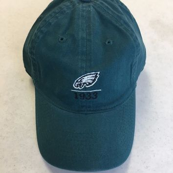 BRAND NEW REEBOK PHILADELPHIA EAGLES GREEN 1933 FITTED HAT