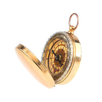 Camping Hiking Portable Brass Pocket Golden Compass Navigation   Sale B2C Shop