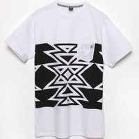 Volcom Atsa Pocket T-Shirt - Mens Tee - White