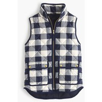 J.Crew Petite Excursion Quilted Vest