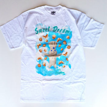Pillsbury Doughboy Sweet Dreams Vintage T-Shirt, 90s T Shirt, Cartoon Shirt
