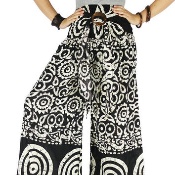 Harem pants Thai pants Hippie clothes Hippie pants Palazzo Pants Sewing Pattern Gypsy pants
