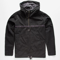 Quiksilver Roots Radical Mens Jacket Black  In Sizes