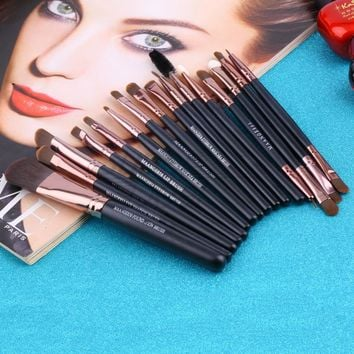 15 pcs Cosmetic Brush Makeup Tools Kit