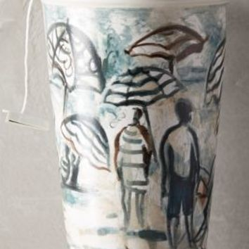 Ceramic Sketch Cup by Gwyneth Leech