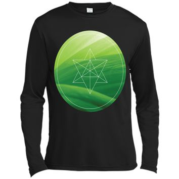 Sacred-Geometry Leaf T-Shirt