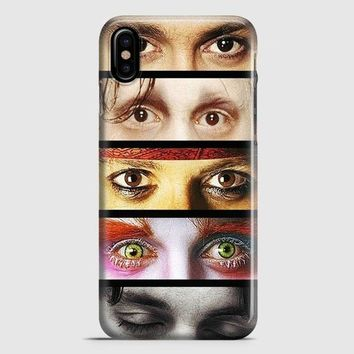 Johnny Depp iPhone X Case