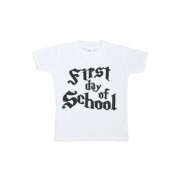 Custom Party Shop Kids First Day of School T-shirt