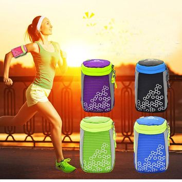 Waterproof Running Arm Bag Jogging Pouch Gym Hand Bag